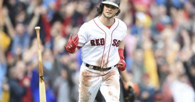 Notas de fin de curso para los Boston Red Sox Benintendi