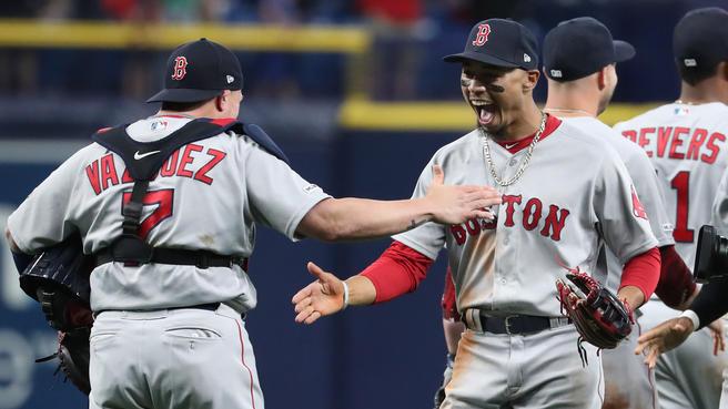 Los Red Sox salvan la primera etapa de montaña red sox beisbol mlb beisbolmlb