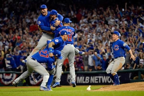 los cubs ganan las series mundiales world series poema if mlb en español beisbol