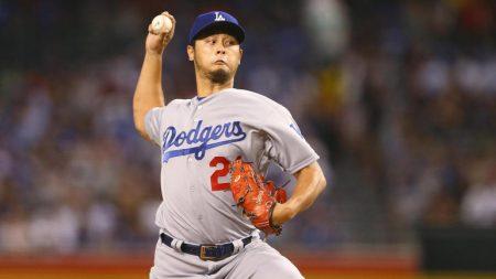 yu darvish Series de Campeonato Liga Nacional: Los Ángeles Dodgers en las Series Mundiales 29 años después.